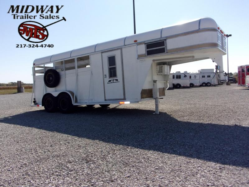 1991 Rawhide 3H Stock/Combo Weekend Horse Trailer