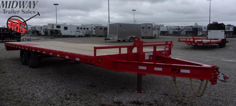 "2020 PJ Trailers 102 X 26' 8"" I-Beam Deckover TA BP Equipment Trailer"