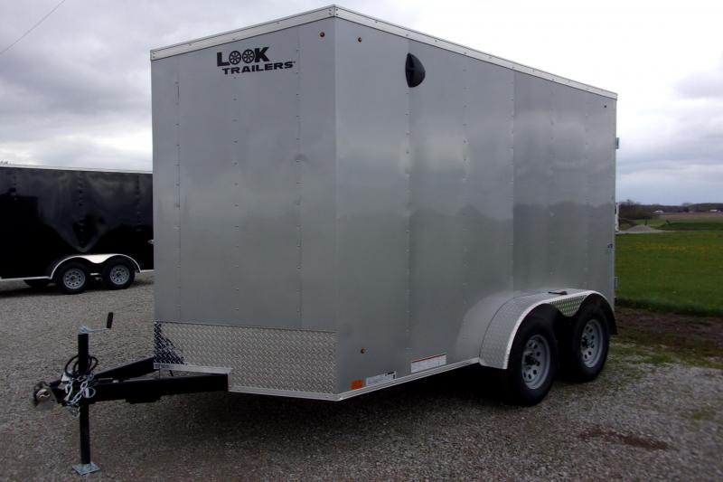 2021 Look Trailers ST DLX 7 X 12' TA BP Enclosed Cargo Trailer