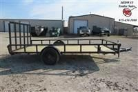2021 H and H Trailer 82 X 14' SR Utility 3.5K SA BP Utility Trailer