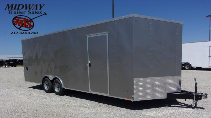 2021 Look Trailers Auto Hauler DLX 8.5 X 24' TA BP Car / Racing Trailer