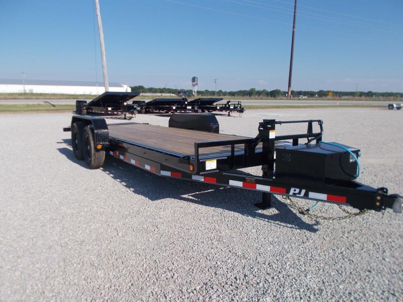 2022 PJ Trailers 82 X 20' Full Powered Tilt TA BP Other Equipment