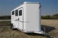 2008 Featherlite 2H Straight Load Horse Trailer