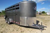 2021 S&S Manufacturing 14' Livestock Livestock Trailer