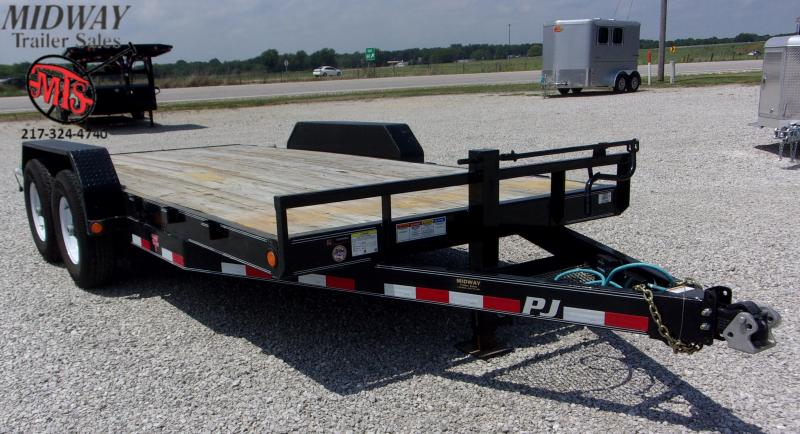 "2020 PJ Trailers 83"" X 16' 6"" CH Equipment TA BP Equipment Trailer"