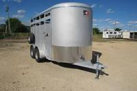 2021 S&S Manufacturing MA521149 Livestock Trailer