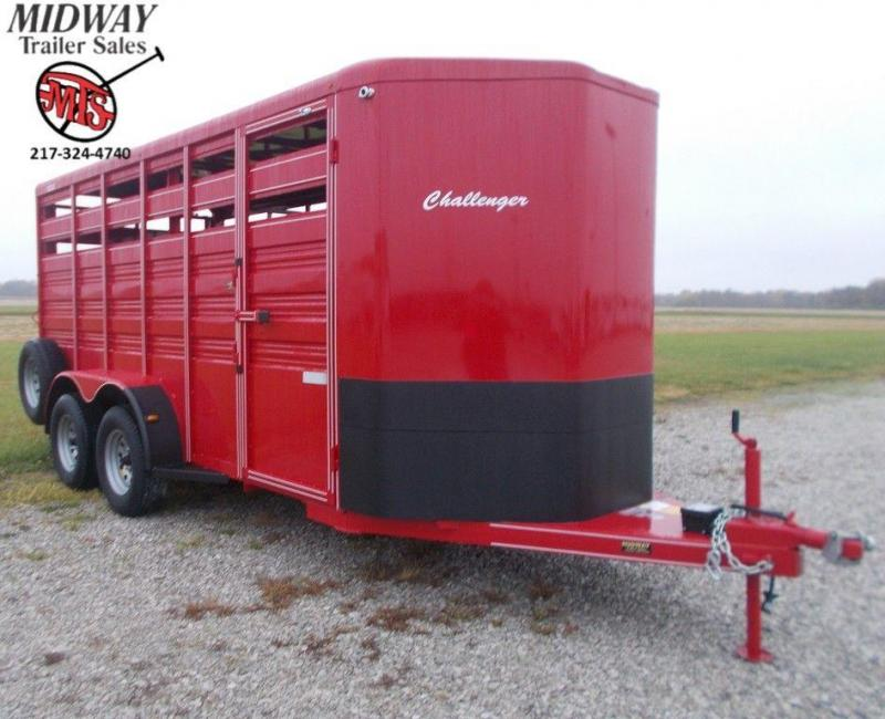 "2020 Titan Trailer 6' X 6'6"" X 16' Challenger Stock BP"