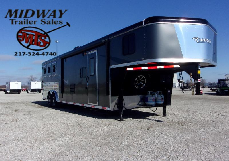 2021 Bison Trailers 8313 Richochet Horse Trailer