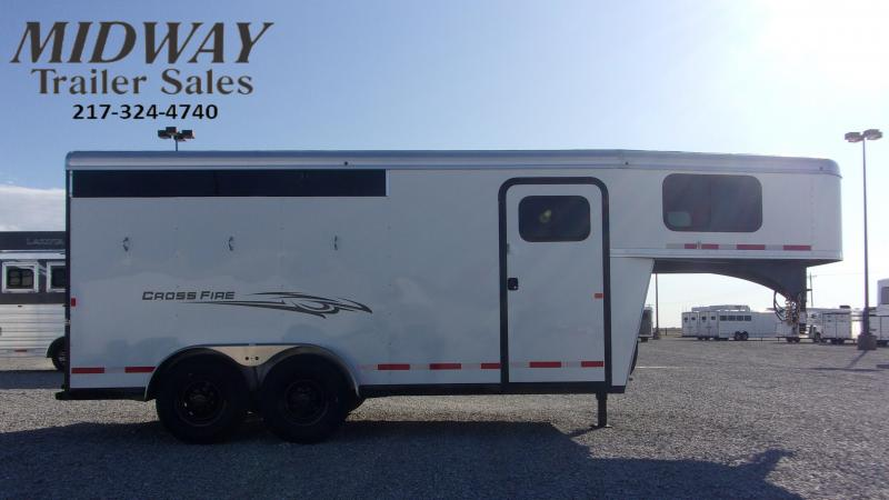 2021 Logan Coach CrossFire 3H GN Horse Trailer