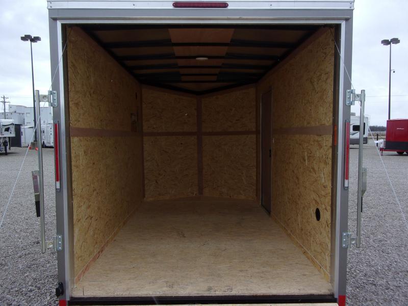 2021 Look Trailers ST DLX 7X12' SA BP Enclosed Cargo Trailer