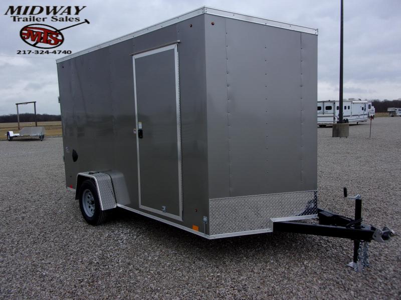 2021 Look Trailers ST DLX 7X12' SA BP Enclosed Cargo Trailer
