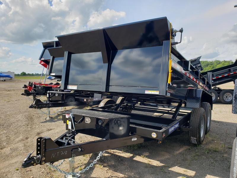 2022 Sure-Trac 82 IN x 12 HD Low Profile Dump Trailer For Sale