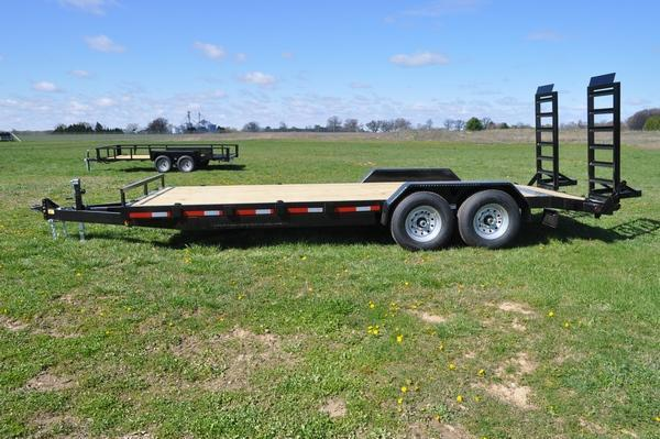 2022 Haul-it 7 x 20 Open 14K Equipment Trailer