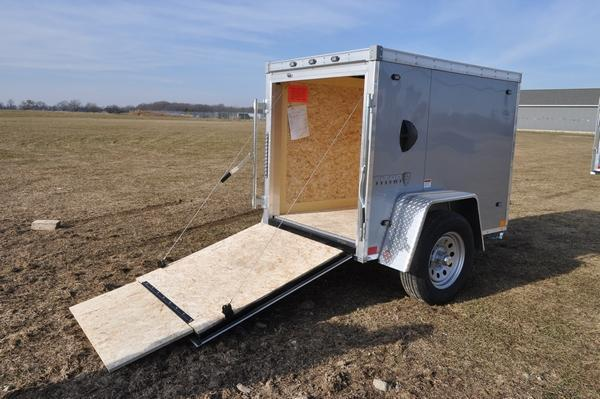 2020 Stealth Trailers 4 x 6 Enclosed Cargo Trailer For Sale