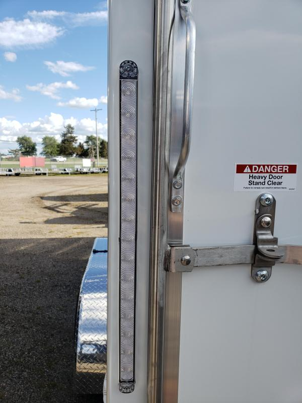 2022 Discovery Trailers 7x19 2-Place Aluminum  Snowmobile Trailer For Sale.