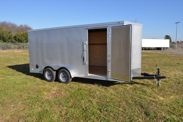 2021 American Hauler 7 x 16 Wedge Nose Enclosed Cargo Trailer For Sale