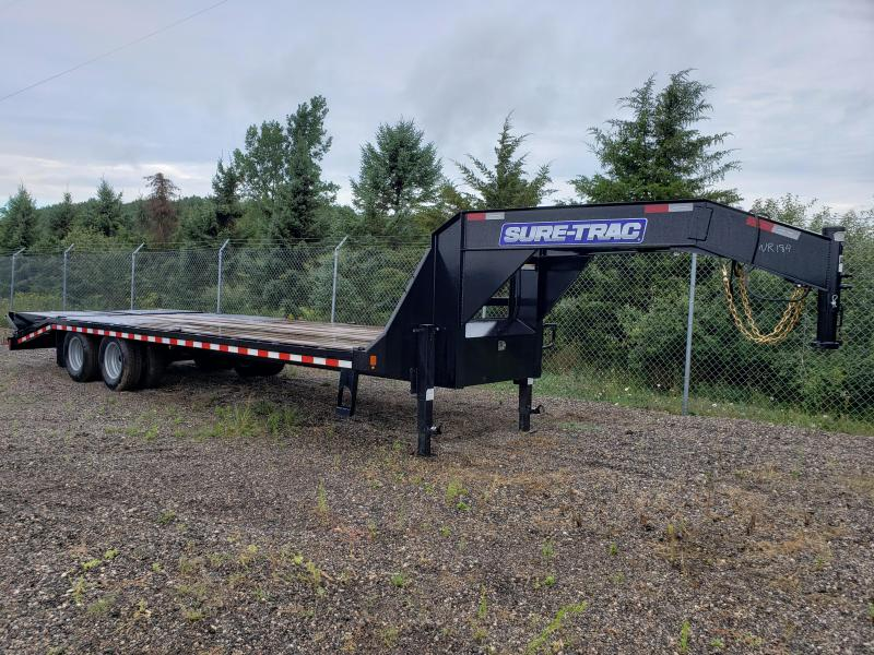 2020 Sure-Trac 8.5x25 low profile Equipment Trailer For Sale Michigan