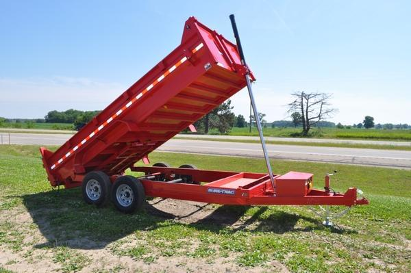 2020 Sure-Trac 82 IN X 16 LP 14K Telescopic Dump Trailer for Sale