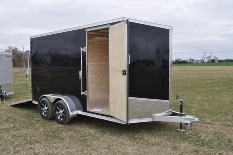 2020 Haul-It 7 x 14 All Aluminum Enclosed Cargo Trailer For Sale