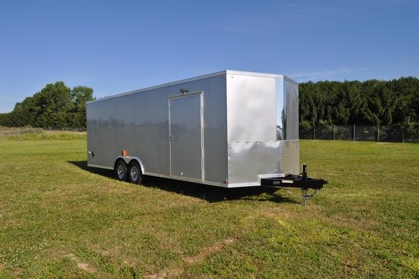2020 Haul-it 8.5 x 24 Wedge Nose Car / Racing Trailer For Sale