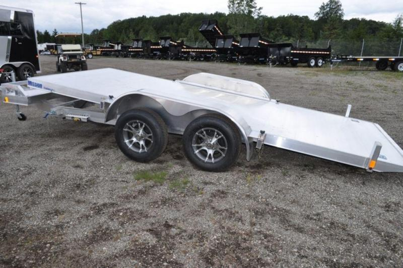2017 Mission All Aluminum 18' Tilt Car Trailer for Sale