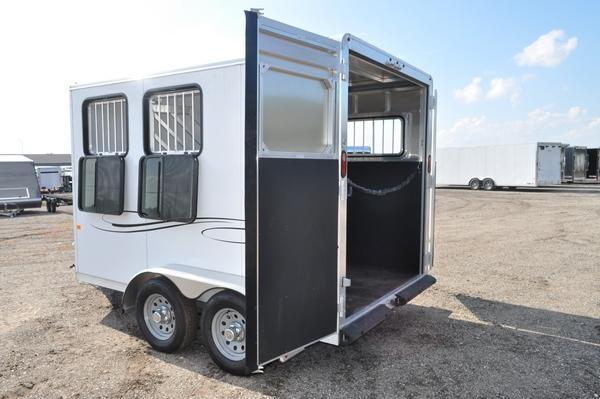 2019 Frontier All Aluminum 2 Horse Trailer For Sale