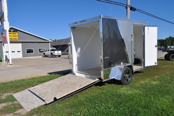 2021 Stealth Trailers 6 x 10 Enclosed Two Tone Motorcycle Trailer For Sale