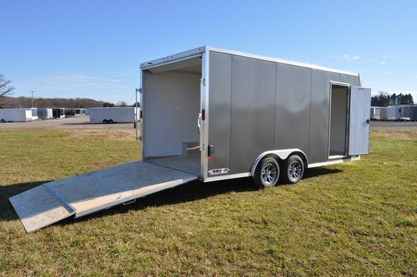 2019 EZ Hauler 8.5 x 18 All Aluminum Car / Racing Trailer For Sale
