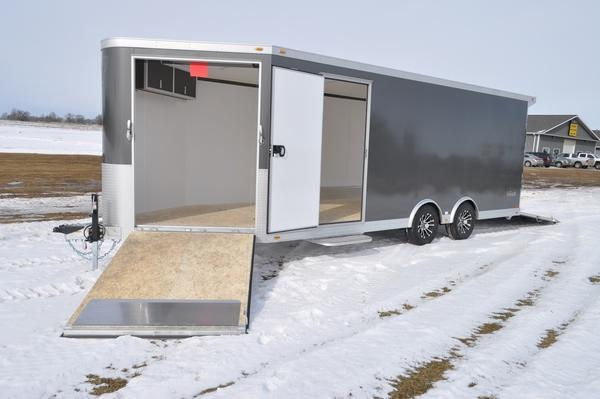 2020 inTech Trailers All Aluminum 8.5 x 20 + 5 Combo Car / Racing Trailer