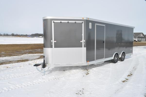 2020 inTech Trailers All Aluminum 8.5 x 20 + 5 Combo Car / Racing Trailer