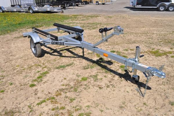 2021 Genesis Single Place Galvanized Watercraft Trailer For Sale
