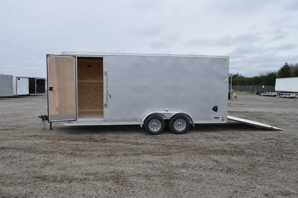 2022 Haul-it 7 x 18 Wedge Nose 7' Tall Enclosed Cargo Trailer