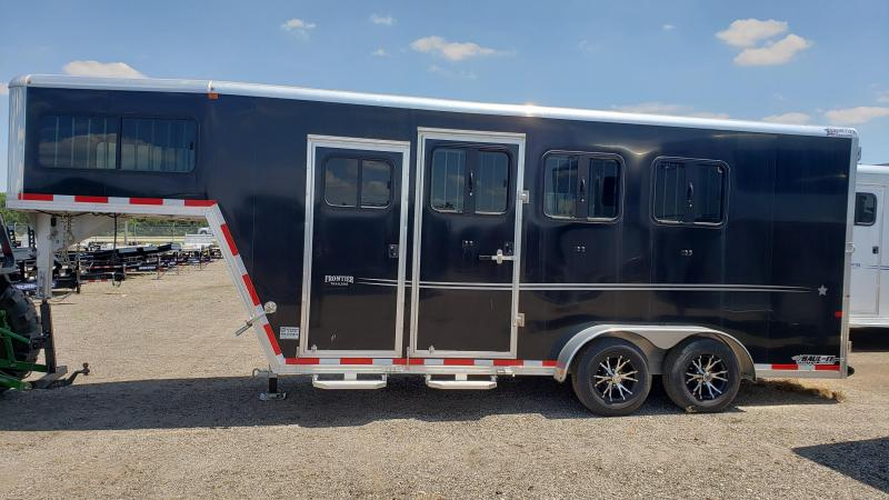 2017 Frontier 3 Horse Aluminum Horse Trailer For Sale Michigan