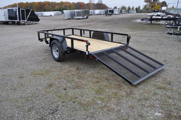2021 Sure-Trac 5 x 10 Tube Top Utility Trailer  3K For Sale