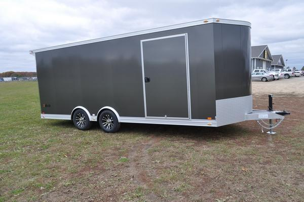 2021 inTech Trailers All Aluminum 8.5 x 20 Wedge Nose Car / Racing Trailer For Sale