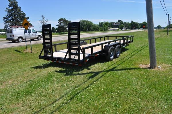 2020 Sure-Trac 7 x 22 14K Heavy Duty Equipment Trailer For Sale