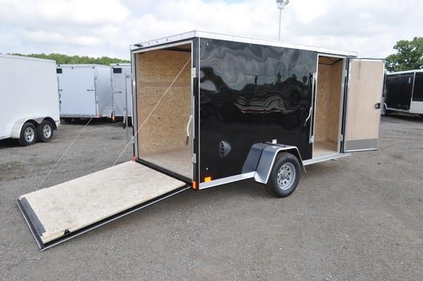 2020 Haul-it 6 x 12 Wedge Nose Enclosed Cargo Trailer For Sale