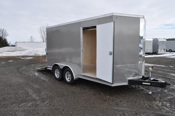 2020 Sure-Trac 7 x 14 Wedge Nose Enclosed Cargo Trailer For Sale