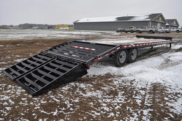 2020 Sure-Trac 8.5 x 20 +5 H.D. Deckover Equipment Trailer For Sale