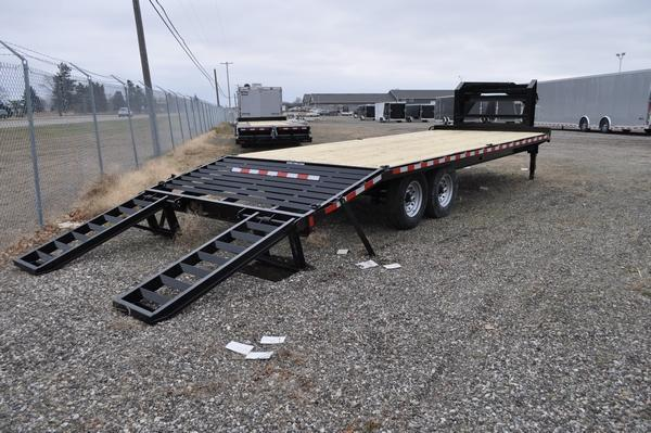 2021 Sure-Trac 8.5 x 20+4 Standard Duty Gooseneck Trailer for Sale