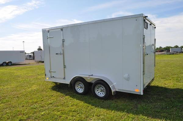 2020 Haul-it 7 x 14 Wedge Nose 7' Tall Enclosed Cargo Trailer For Sale