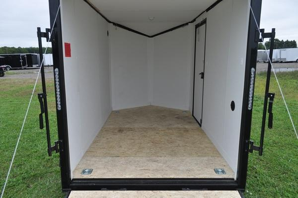 2021 Stealth Trailers 6 x 10 Wedge Nose Motorcycle Trailer For Sale