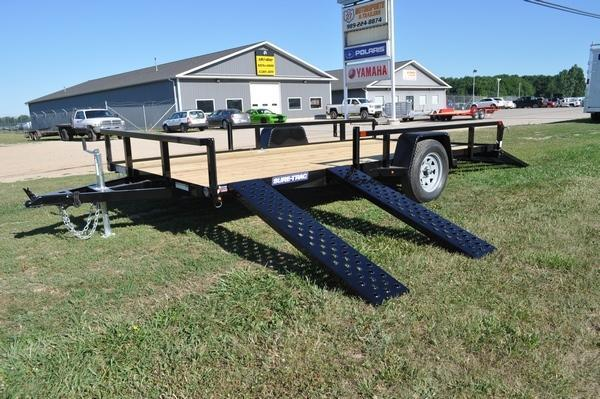 2021 Sure-Trac 7 x 14 Side Load ATV Utility Trailer For Sale