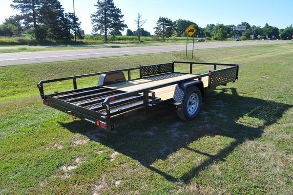 2021 Sure-Trac 7 x 14 Side Load ATV Utility Trailer For Sale