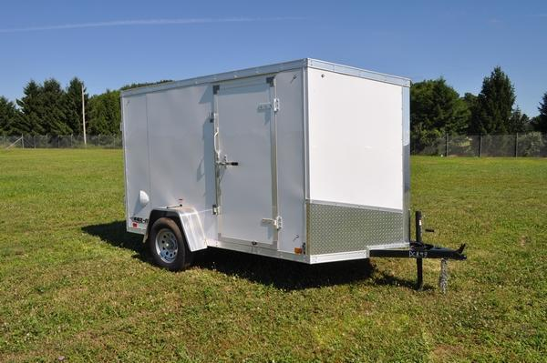 2020 Haul-it 6 x 10 Wedge Nose Enclosed Cargo Trailer For Sale