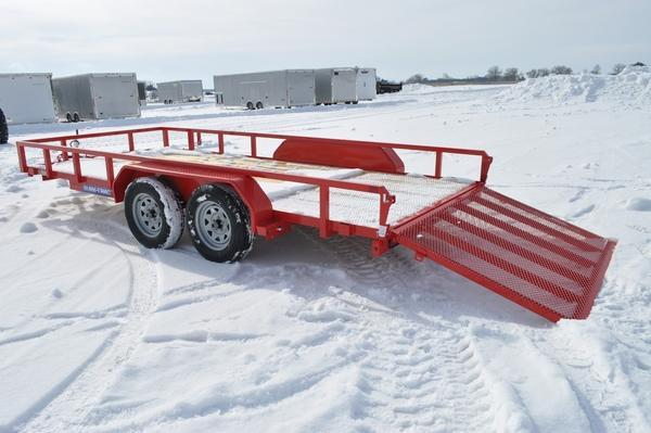 2021 Sure-Trac 7 x 16 Tube Top Utility Trailer For Sale
