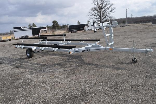 2021 Genesis 18 - 20' Single Axle Galvanized Float On Watercraft Trailer For Sale
