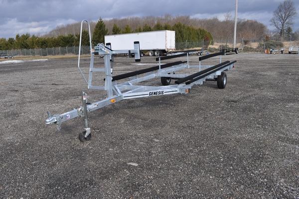 2021 Genesis 18 - 20' Single Axle Galvanized Float On Watercraft Trailer For Sale