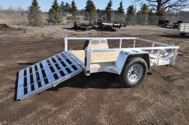 2020 All Aluminum 5 x 8 Perimeter Framed Utility Trailer For Sale