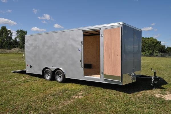 2021 American Hauler 8.5 x 20 Enclosed Wedge Nose Car / Racing Trailer For Sale